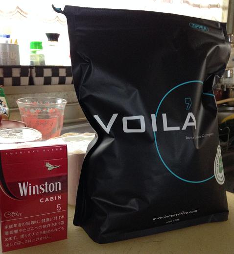 コーヒー生豆1キロの大きさ