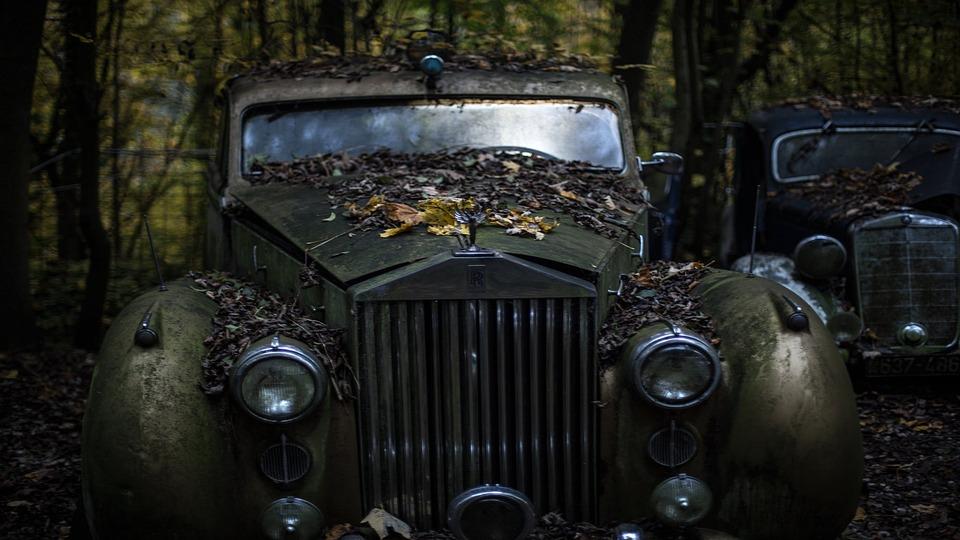 旧車ロールスロイス