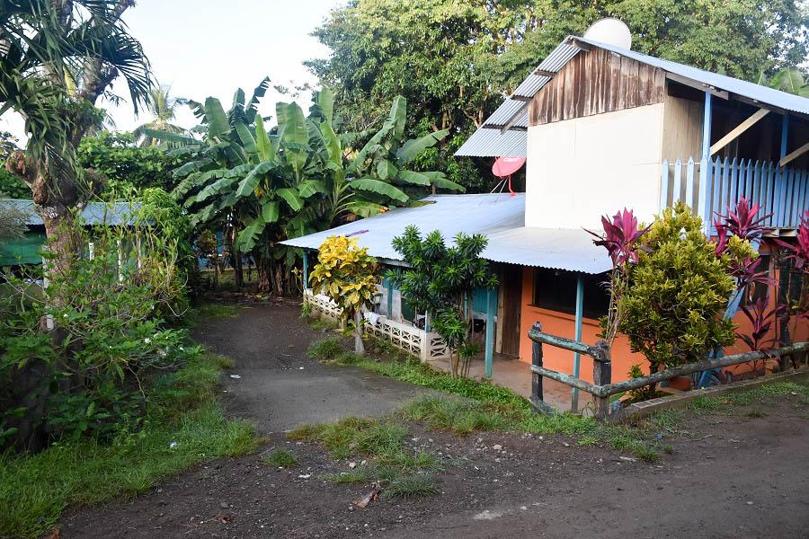 コスタリカのオスティオナルのバスドライバーの民宿