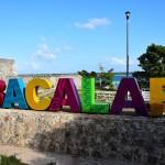 メキシコのバカラルにあるおすすめの観光スポット、七色の湖