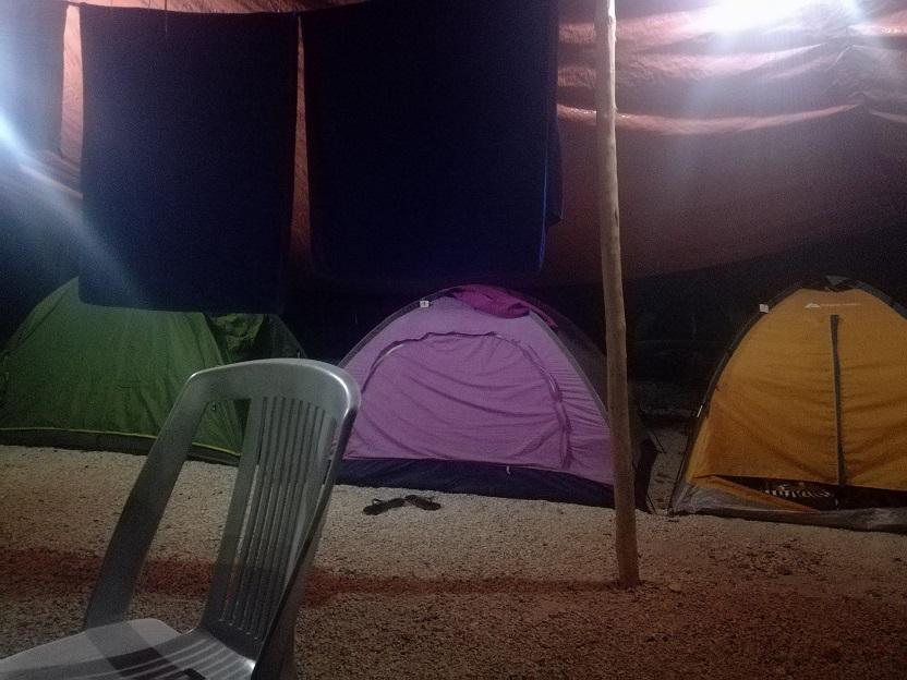 Ximbal Campingバカラル宿